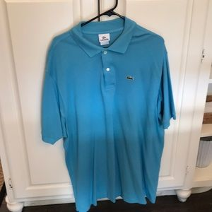 Lacoste Turquoise Polo Size 9